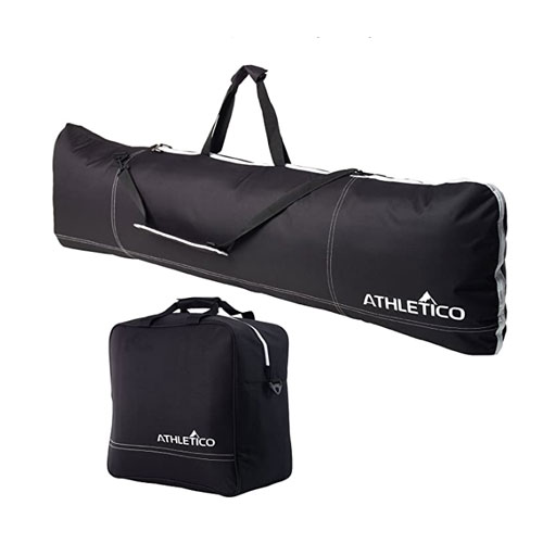 Athletico Two-Piece Padded Boot and Snowboard Bag