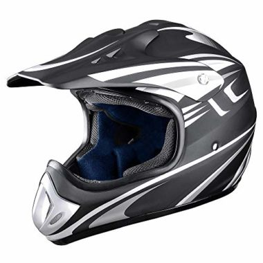 AHR Full Face MX Snowmobile Helmet