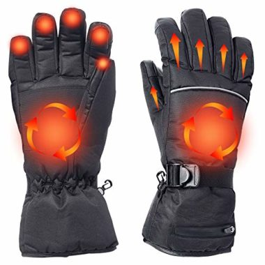 Alritz Battery Powered Rechargeable Heated Gloves