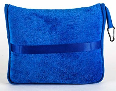 BlueHills Premium Soft Micro Plush Airplane Travel Blanket
