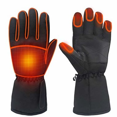 Daintymuse Battery Powered Touchscreen Heated Gloves