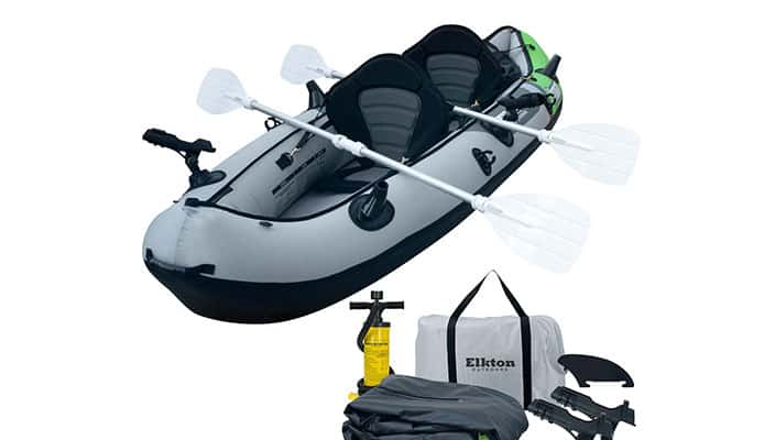 Elkton Outdoors Cormorant Inflatable 2 Person Fishing Kayak Review