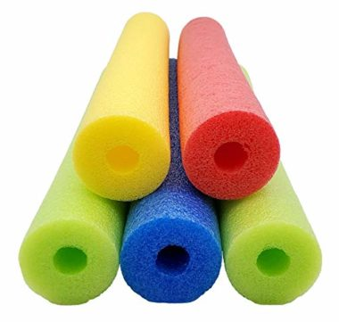 5-Piece Deluxe Wacky Floating Pool Noodles