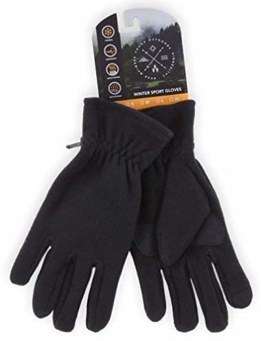 Tough Outdoors Winter Fleece Gloves