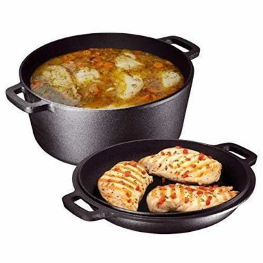 Bruntmor Dutch Oven For Camping