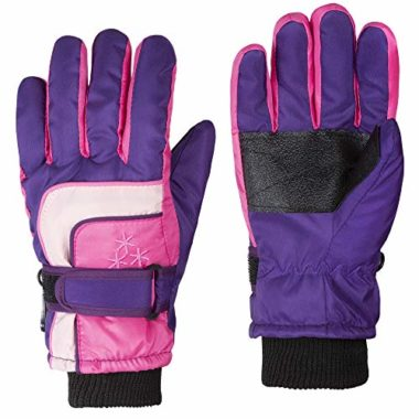 iSee Case Insulated Ski Gloves For Kids