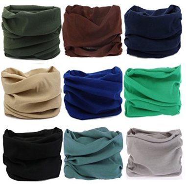 KALILY Multifunctional Seamless Neck Gaiter