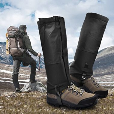Leanking Waterproof Snow Gaiters