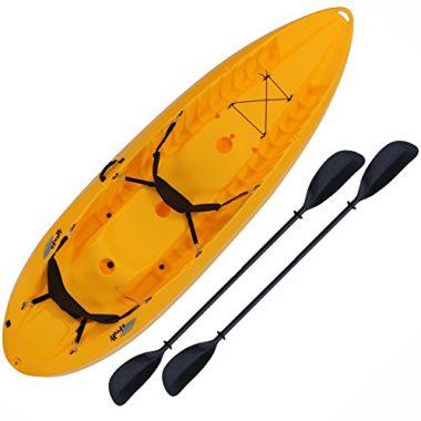 Lifetime 10 Foot Two Person Tandem Kayak For Big Guys