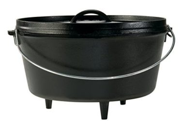 Lodge Deep Dutch Oven For Camping
