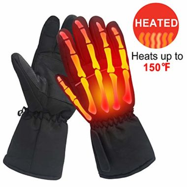MMlove Men Women Electric Heated Gloves
