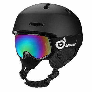 Odoland Shockproof Kids Ski Helmet