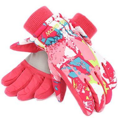 RunRRIn Winter Girls Ski Gloves