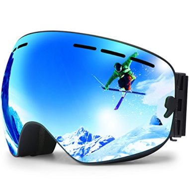 Hongdak OTG Ski Goggles For Flat Light
