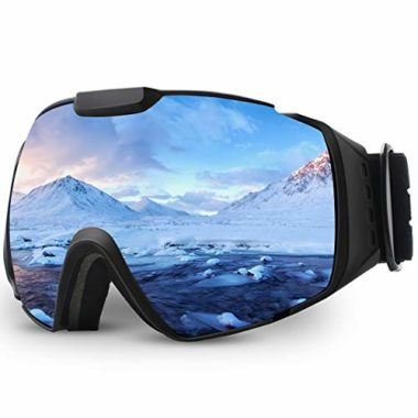 Juli Eyewear Spherical Flat-Light Goggles For Skiing
