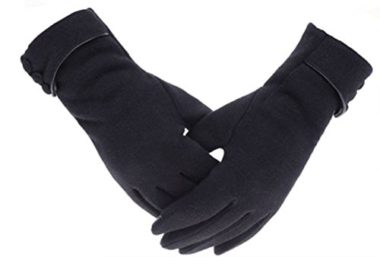 Tomily Women's Fleece Gloves