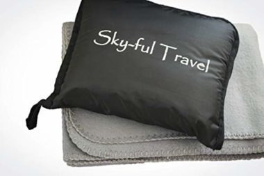 Sky-ful Water-Resistant Travel Blanket