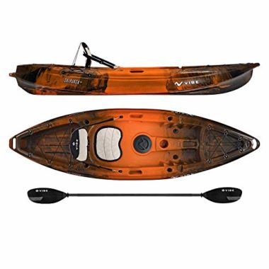 Vibe Kayaks Skipjack 9-Foot Angler Kayak For Big Guys