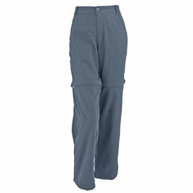 White Sierra Point Convertible Women's Hiking Pants
