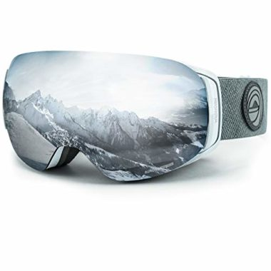 WildHorn Outfitters Roca Flat-Light Goggles For Skiing