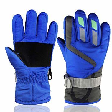 YR Lover Outdoor Kids Ski Gloves