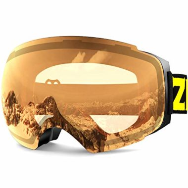 Zionor X4 Dual Layer Ski Goggles For Flat Light