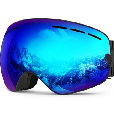 Akaso OTG Unisex Flat-Light Goggles For Skiing