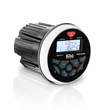 BOSS Audio MGR350B In-Dash Weather-Proof Marine Stereo