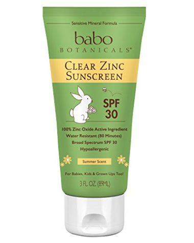 Babo Botanicals Reef Safe Sunscreen for Surfing and Watersports