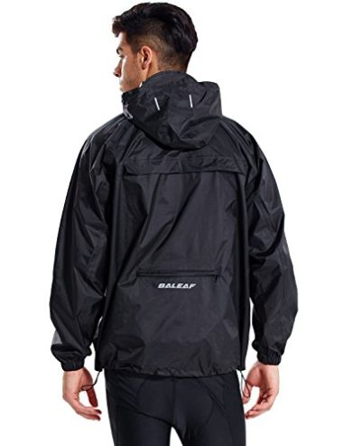 Baleaf Unisex Packable Rain Jacket