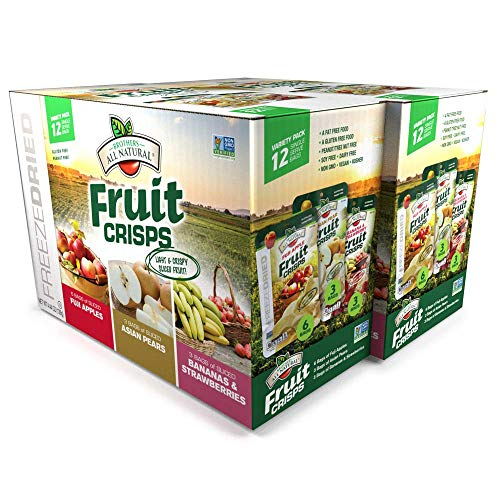 Brothers Fruit Crisps Freeze Dried Food For Backpacking