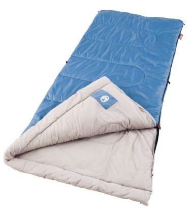 Coleman Sun Ridge Warm Weather Summer Sleeping Bag