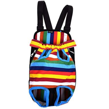 Cosmos Colorful Pattern Dog Backpack Carrier