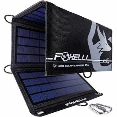 Foxelli Camping Solar Panel