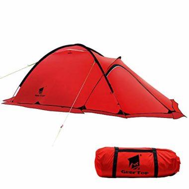 Geertop Portable Two Person Four Season Tent