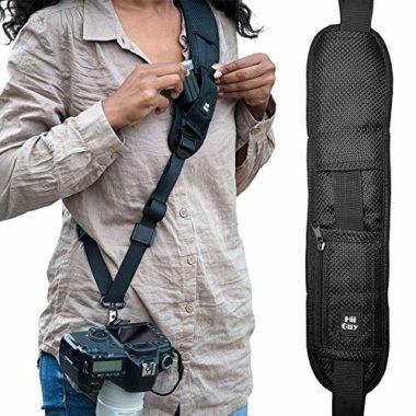 HiiGuy Adjustable Sling for SLR and DSLR Camera Harness