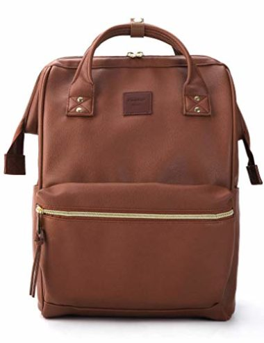 Kah & Kee Laptop Leather Backpack