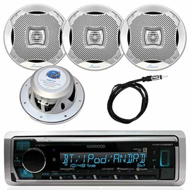 Kenwood Bluetooth Digital USB AUX AM/FM Radio Marine Stereo