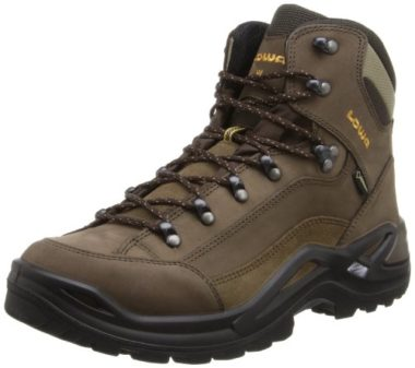 Lowa Men's Renegade GTX Hiking Boots For Wide Feet