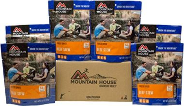 Mountain House Beef Stew Freeze Dried Food For Backpacking
