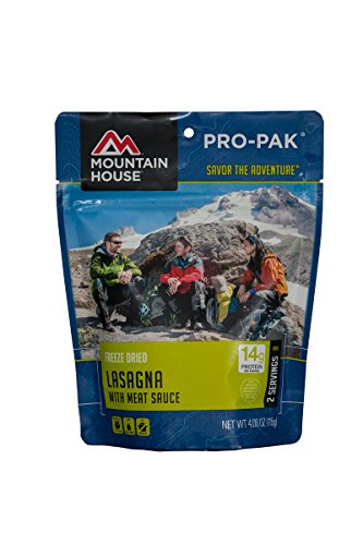 Mountain House Lasagna Freeze Dried Food For Backpacking