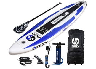 NIXY_Manhattan_Inflatable_Stand_Up_Paddle_Board_Review