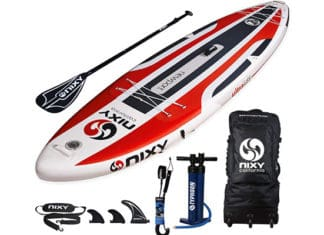 NIXY_Newport_SUP_Inflatable_Stand_Up_Paddle_Board_Review