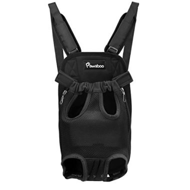 Pawaboo Adjustable Dog Backpack Carrier