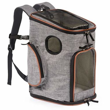 Pawfect Pets Soft Sided Dog Backpack Carrier