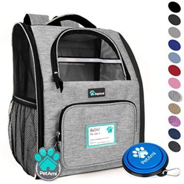 PetAmi Deluxe Dog Backpack Carrier