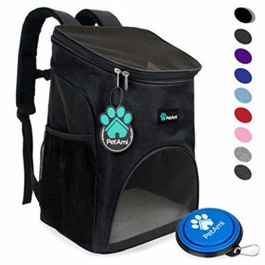 PetAmi Premium Dog Backpack Carrier