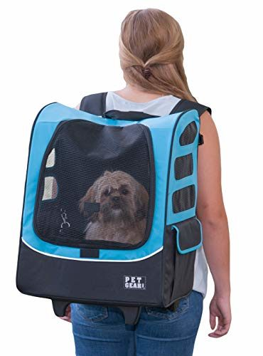Pet Gear I-GO2 Roller Dog Backpack Carrier
