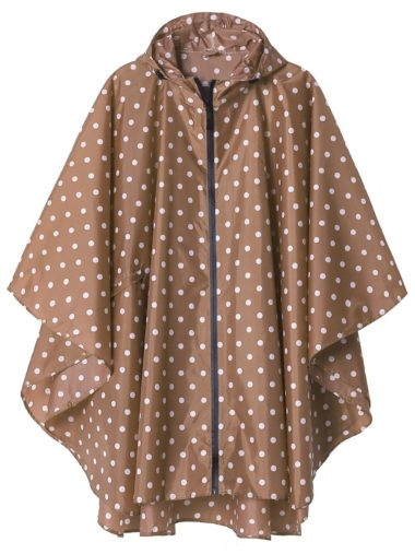 Saphirose Hooded Adult Rain Poncho
