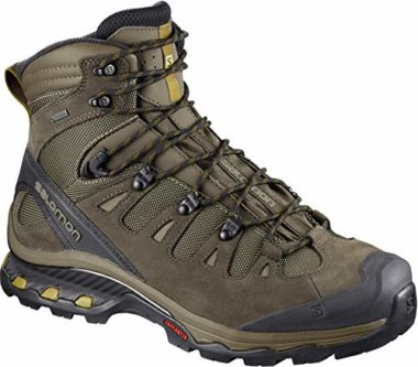 Salomon Men's Quest Hiking Boots For Wide Feet